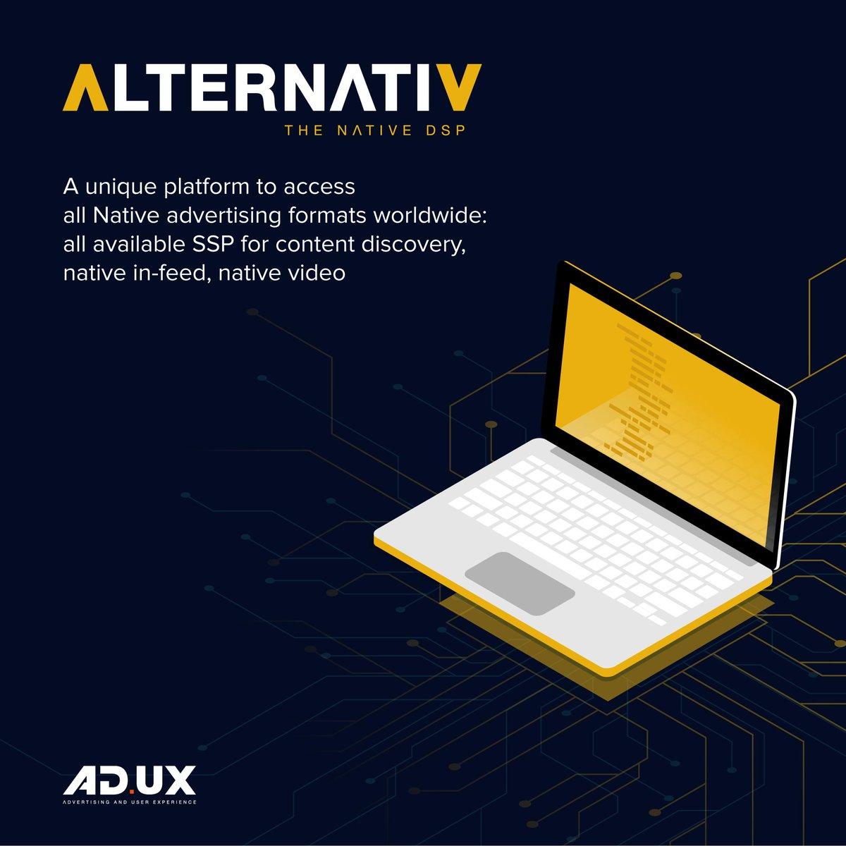 Notre plateforme d'achat Adysseum lancée courant 2017 devient ALTERNATIV. Ce changement s'accompagne d'un déploiement à travers l'Europe.  Plus d'infos ➡️ https://t.co/h3vo8RGN6L https://t.co/30U7UfX9oY