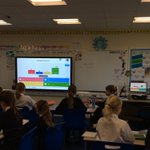 Image for the Tweet beginning: Using the multi-choice game, Kahoot,