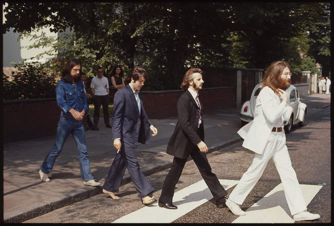 Happy #AbbeyRoad50 day! Here are some photos Linda took when the boys made history and crossed Abbey Road!✌️