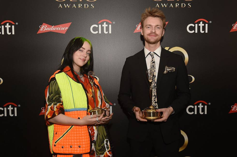 Congratulations to @billieeilish and @finneas on your #ClioMusic win at last nights #ClioAwards! Thank you for celebrating with us #Clio60