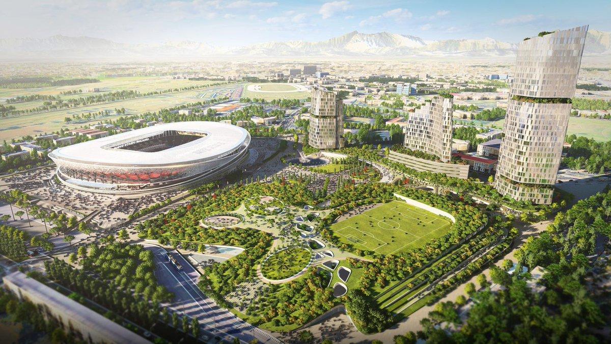 Milan e Inter apresentaram duas propostas para a construção de um novo estádio.