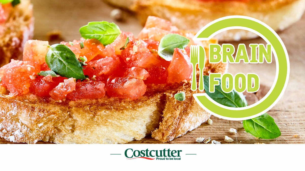 Lunch treat and one of the foods mentioned in our 'Brain Food' article!  Did you know there is strong evidence to suggest that lycopene, a powerful antioxidant found in tomatoes, could help protect against the development of dementia? Read more at https://t.co/n4ch9bst51 #recipes https://t.co/2juwTgxX1f