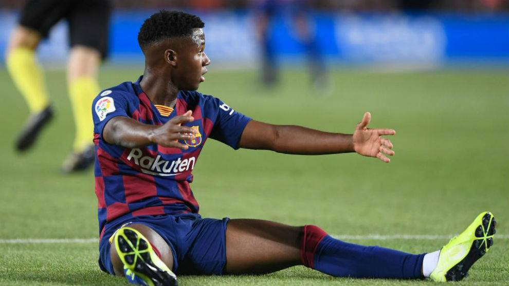 🗣 [@Alfremartinezz🥇] | Spains U-21 coach plans to summon Ansu Fati in the next match window. It will be on October 4. This would rule out his march to the U-17 World Cup and Barcelona would not lose the player for an entire 1 month.
