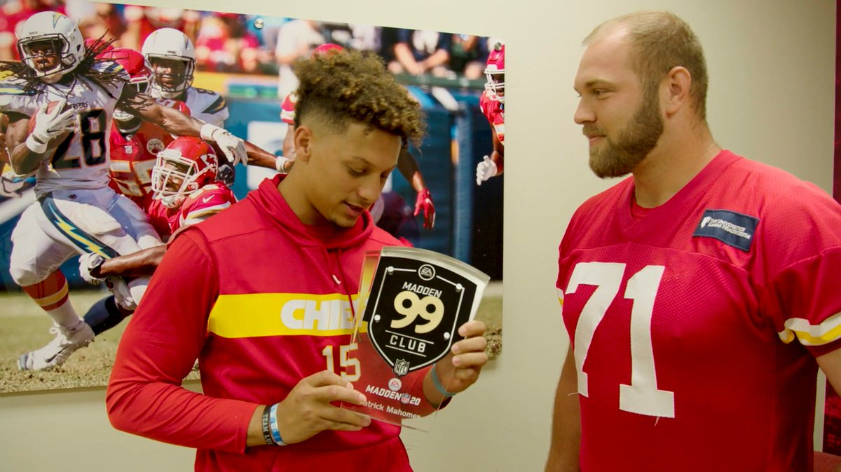 Patrick Mahomes now has a 99 rating in Madden 💪 (via @Chiefs)