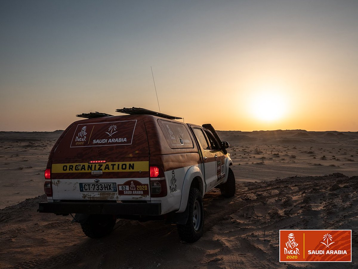 """The Recce team are upping the ante this year! Here's what David Castera, Dakar Director, had to say   """"Many treasures can be found in the desert. Faced with a wealth of tracks, the work involved in writing the road-book is guided by a new philosophy.""""   #Dakar2020 <br>http://pic.twitter.com/j3XVJNxBis"""