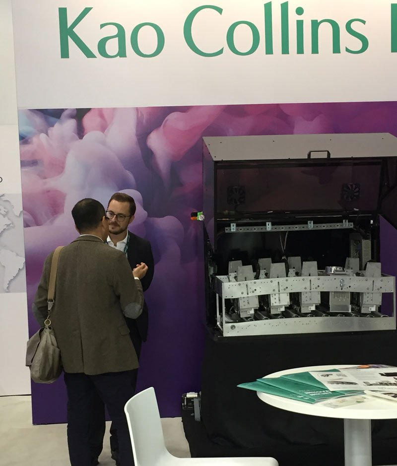 Excited to be supporting our partners @kaocollinsinc @Labelexpo
