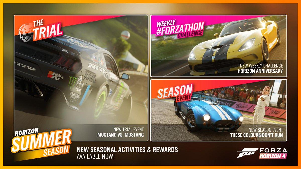 The one year anniversary has arrived! In summery... Happy Birthday Horizon! ☀️Welcome to the Horizon Summer Season #ForzaHorizon4