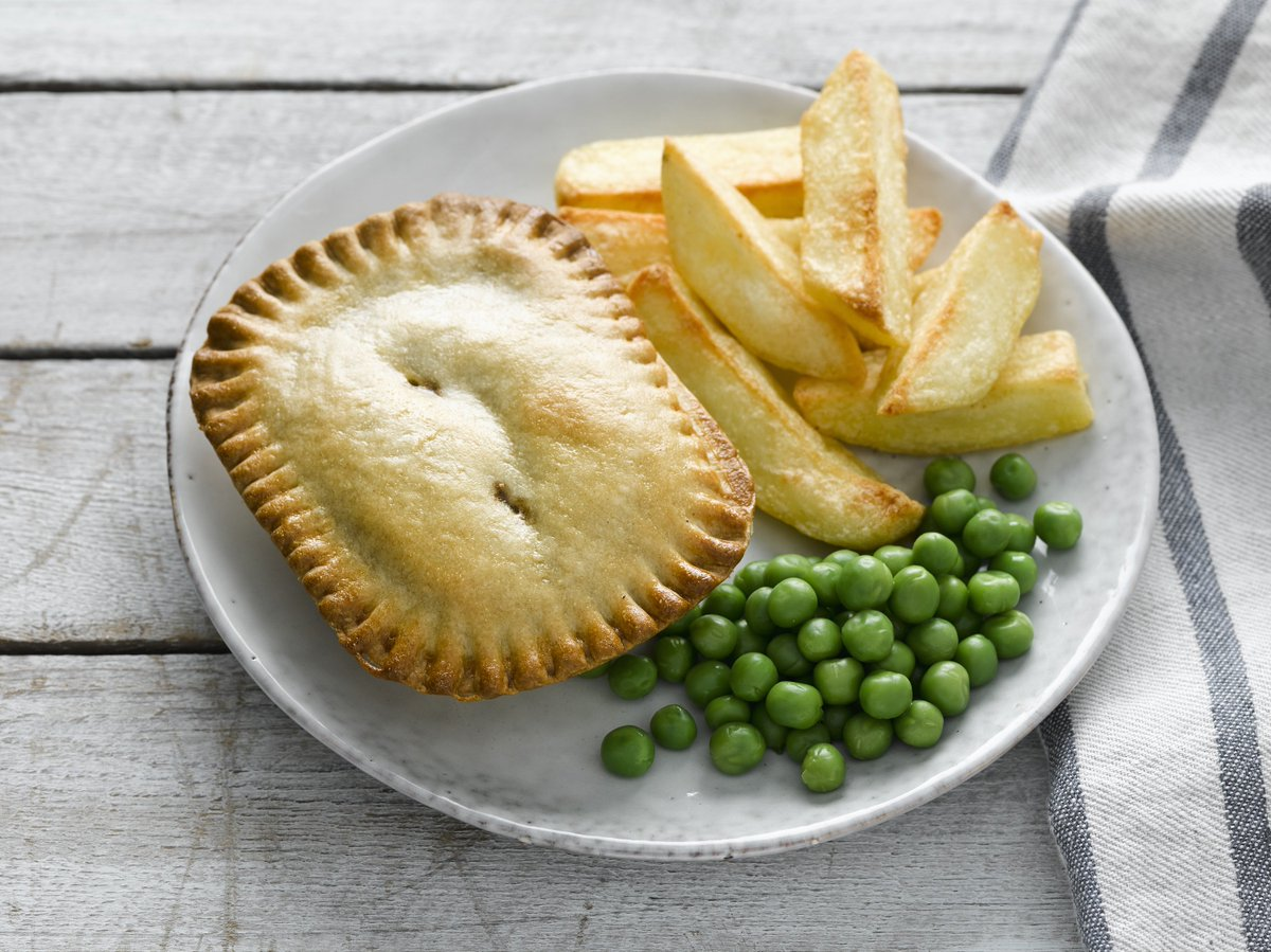 The classic. The Original. Steak Pie. What would you have with it?