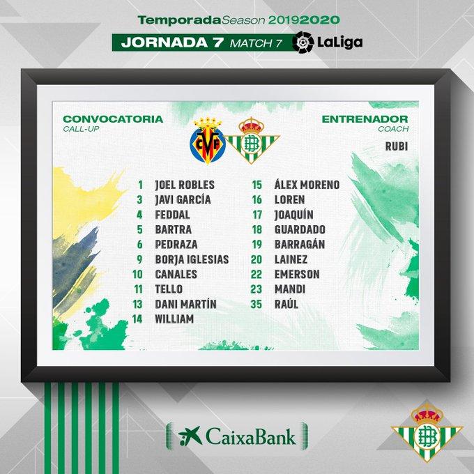 EFZyWjtW4AEeg5Z?format=jpg&name=small Rubi convoca a 19 jugadores para jugar ante el Villarreal - Comunio-Biwenger