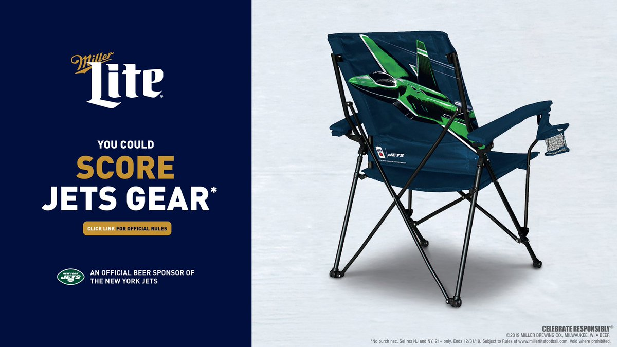 Stupendous New York Jets On Twitter Win Big With Millerlite Theyellowbook Wood Chair Design Ideas Theyellowbookinfo