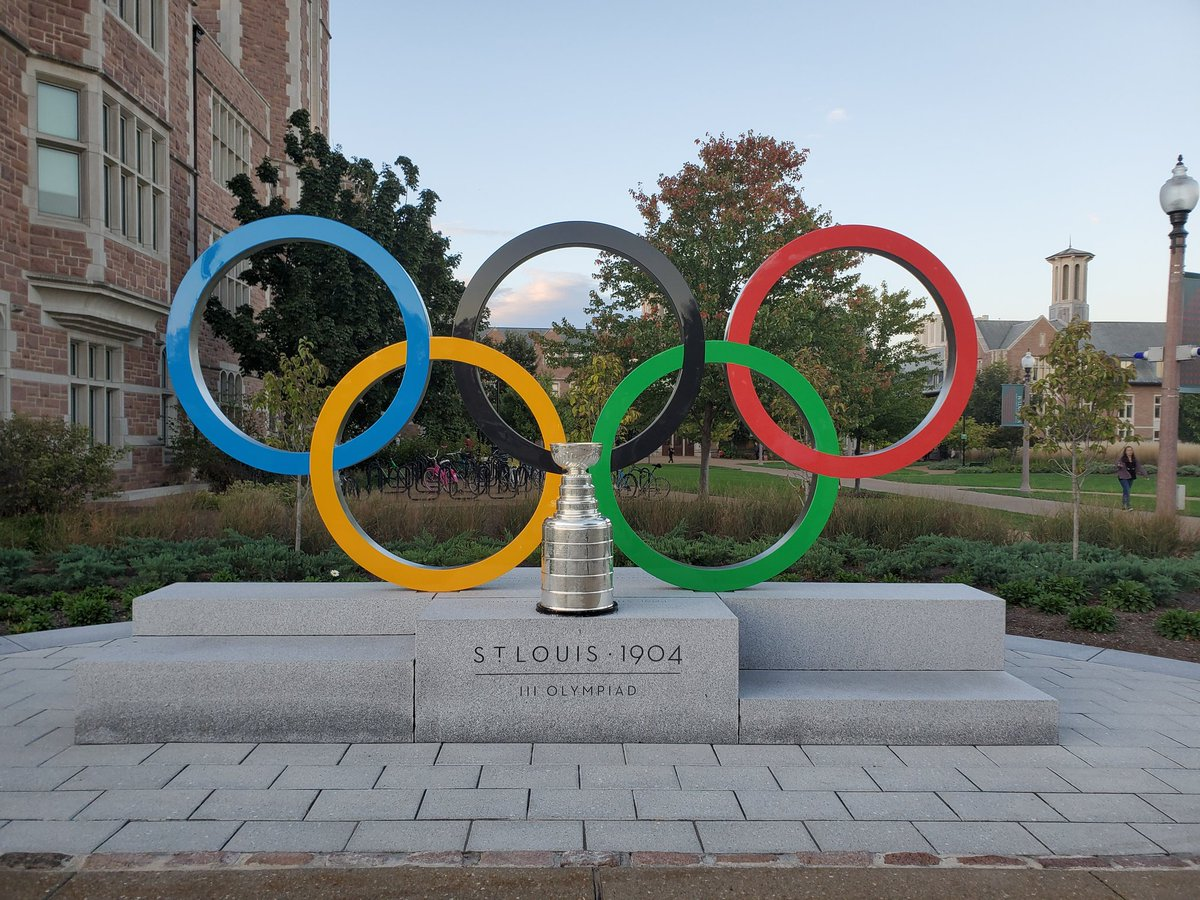 Site of the 1904 @Olympics held in St Louis. #stanleycup @WUSTL @StLouisBlues @HockeyHallFame