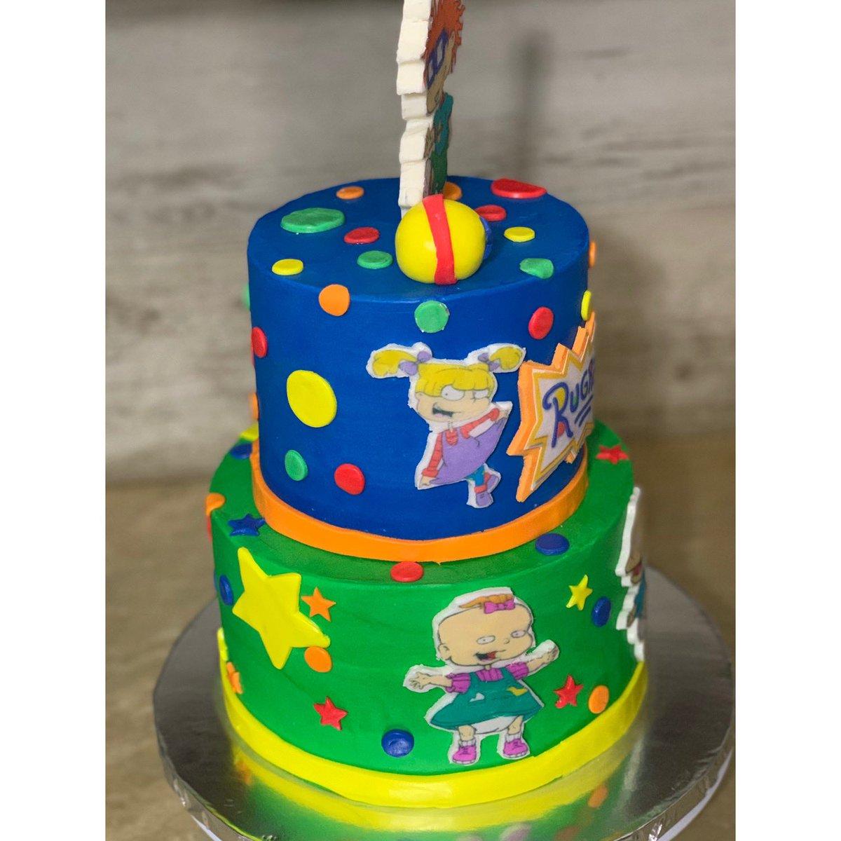 Awe Inspiring Thecupcakepoet On Twitter Rugrats Cake Nickelodeon Nickelodeon Funny Birthday Cards Online Necthendildamsfinfo