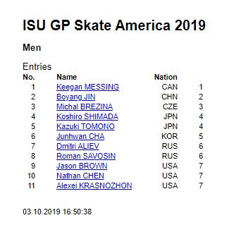GP - 1 этап. Skate America Las Vegas, NV / USA October 18-20, 2019   EF_kKkJWkAAP60H?format=png&name=360x360