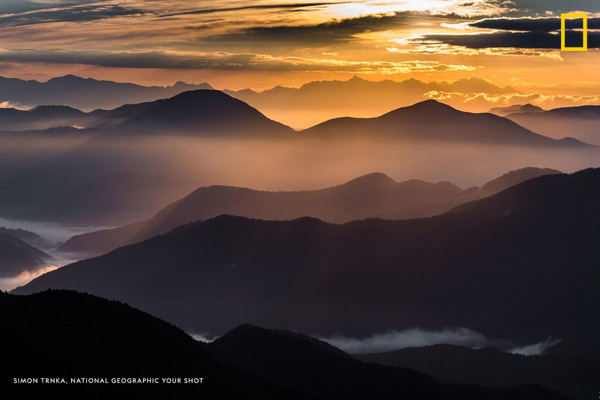 #YourShotPhotographer Simon Trnka found that the early morning was one of the best times to capture the beauty of the Veľká Fatra mountain range in Banská Bystrica, Slovakia. https://on.natgeo.com/358G5G6