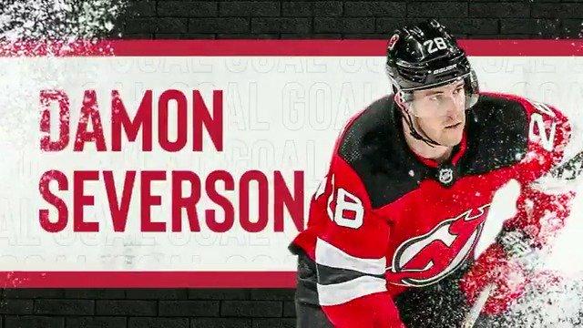 Replying to @NJDevils: DAMON SEVERSON!! 3-2, #NJDEVILS!
