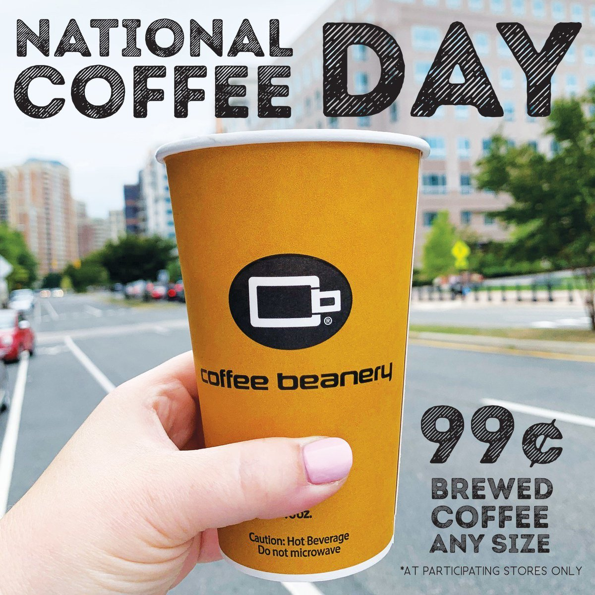 Coffee Beanery Offers 99¢ Any Size Brewed Coffee on National Coffee Day (9/29)! prn.to/2m5uIg9
