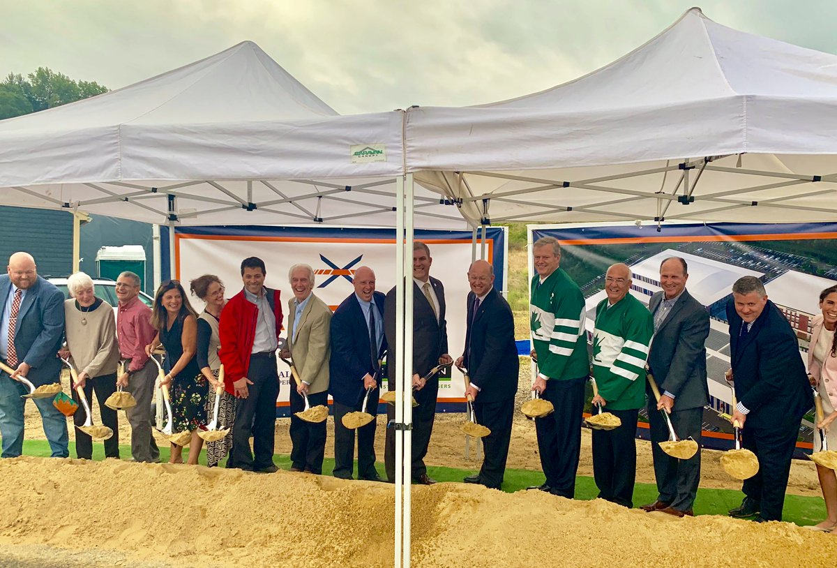 Congrats to the team of local leaders, private players + community members in Amesbury behind the Maples Crossing athletic complex, which will be a great resource for the city + region. Our administration was glad to support infrastructure in the area with a $2.5M MassWorks grant https://t.co/OhicKe3N8k