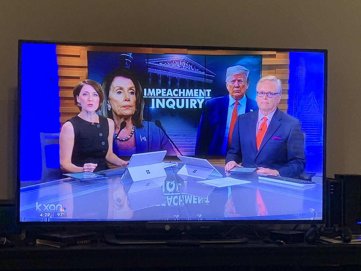 Our local station looks like they've cast a made-for-TV movie about the impeachment proceedings. #accidentalcomedy
