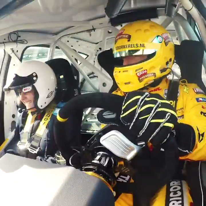 Do you dare? 😎 WIN 🎁 Exclusive #DHLMotorsports VIP ride! ➡️ bit.ly/2m23MOt Experience thrilling race action in my #WTCR race cockpit! 💥 Join the competition and hope to see you soon! Simply delivered 👊🏻