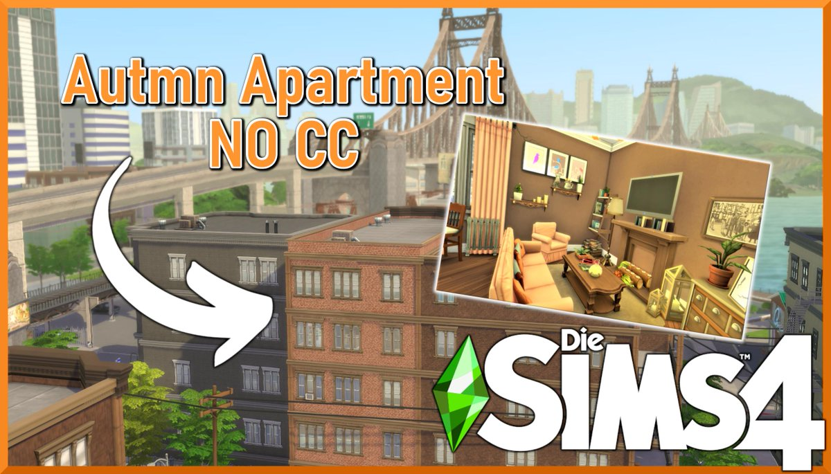 THE AUTUMN IS HERE! And this is also the topic for my first Apartment Speed Build watch the video now and DON'T forget to hit the subscribe button!  https://www.youtube.com/watch?v=hED8ICzHBiY&feature=youtu.be… @TheSims @TheSimCommunity @SimsCreatorsCom @EA_diesims_de #sanmyshuno #autmn pic.twitter.com/bbJ1wqKM8j