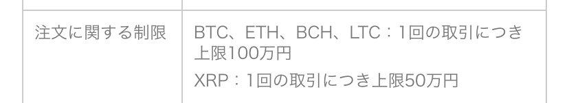 LINEのBitmaxの一回の取引額、基本は100万円なのに、XRPだけなぜか50万円。。しかし、少ないなあ。2年前にLINEが仮想通貨始めるとなれば大暴騰しただろうけど、今はあまり話題にならんね。Bitmaxのフォロワーもわずか900人足らず。時代の流れは確実にあるな。