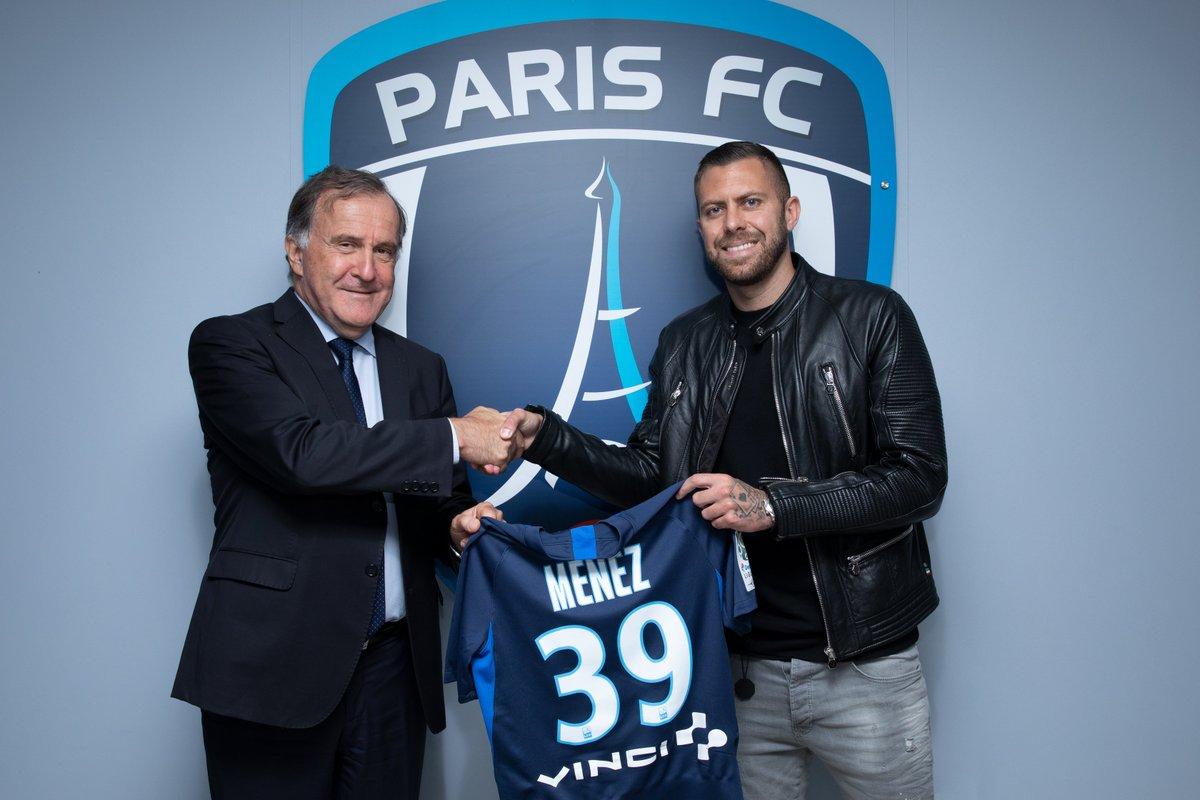 Paris FC : Jérémy Ménez dans le groupe contre Troyes