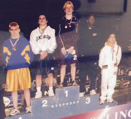 A cool picture of Matt Riddle and Jon Jones placing in a wrestling tournament. https://t.co/NA0hfJmLyR