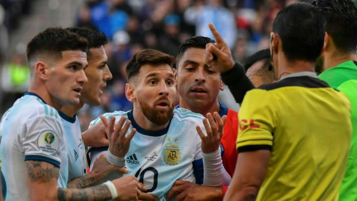 🚨[El Transistor 🥈] | CONMEBOL have rejected Argentina Football Associations appeal to reduce Leo Messis penalty of 3 months.