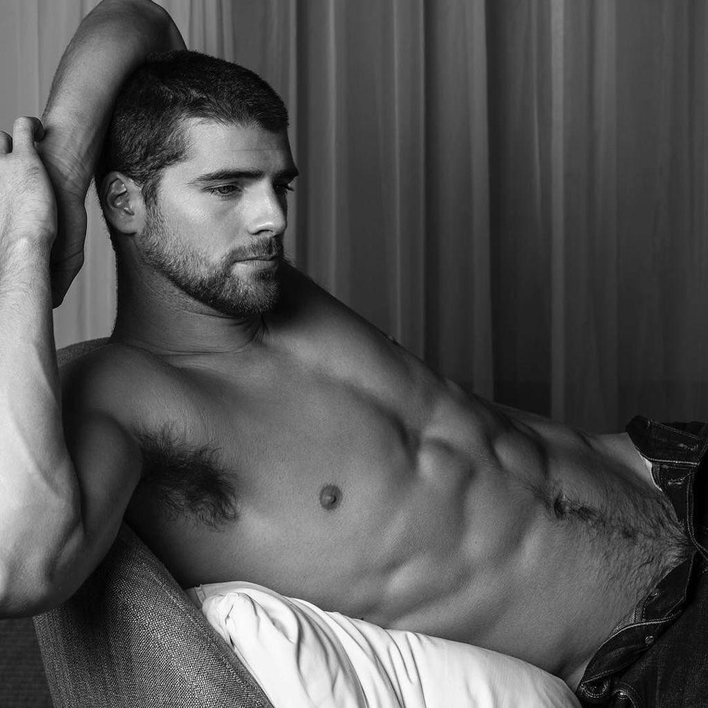 Gay lounge man