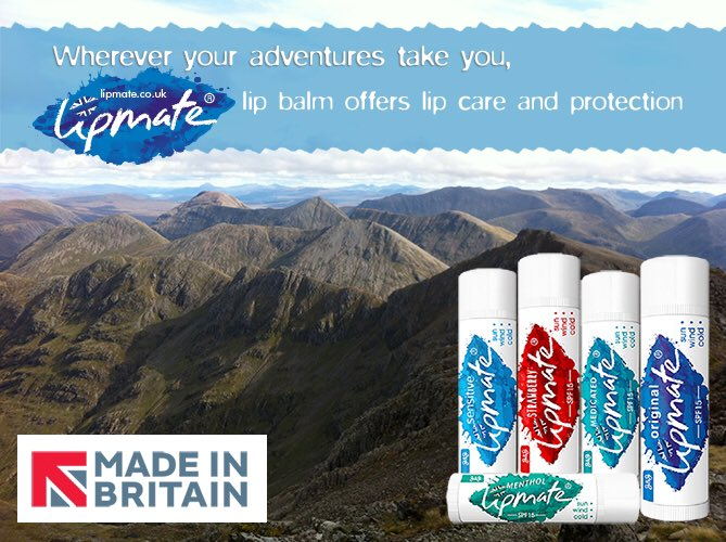 Who's planning some #outdoors  activities this weekend? Enjoy the fresh air wherever your adventures take you. Lipmate #Lipbalm  offers lip care and protection 💋