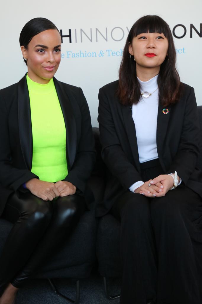 Empowered women empower women #Tbt when these two inspiring women @DiandraBarnwell & @lilianyliu during at our last Winter edition-2019  #womenempowerment #bossbabe #girlboss  #fashion #beauty #nyfw #newyork #sustainability #fashinnovationnyc #fashionistolove #fashinnovationpic.twitter.com/7hJDbFPHO0