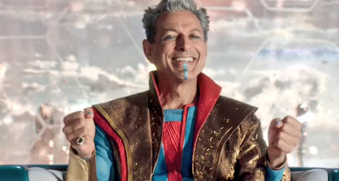 Somebody told me to send you a pic of Jeff Goldblum. I hope you like this one! Happy birthday!