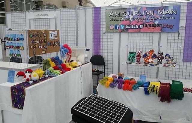 bazar #amigurumi #crochet | Craft fairs, Amigurumi pattern, Market ... | 410x640