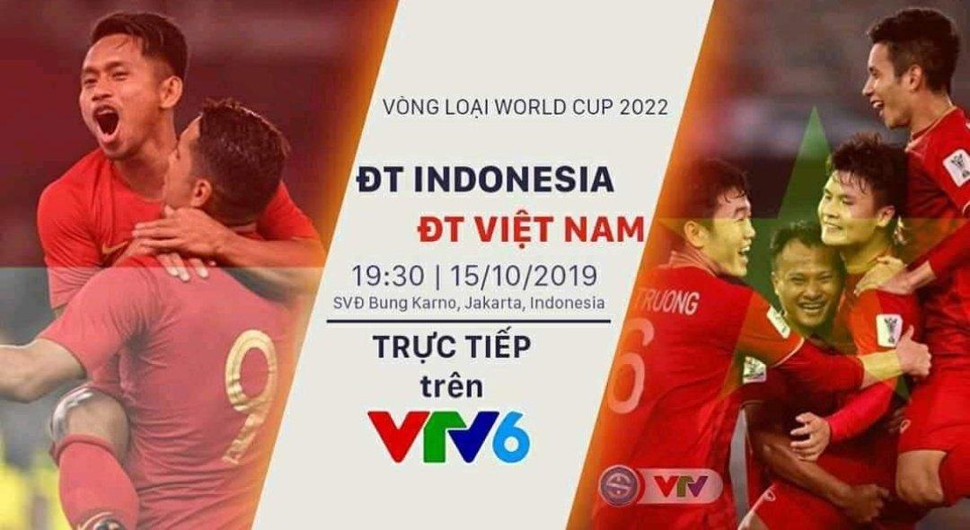 Xem lại Indonesia vs Việt Nam, vòng loại World Cup 2022