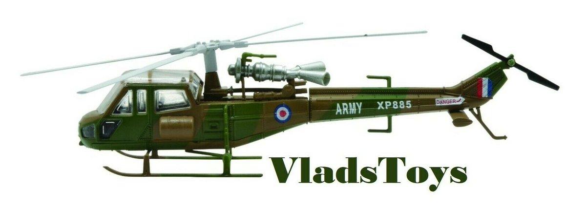 Amercom 1:72 Westland Scout AH.Mk 1 British Army 1983 ACHY51 England