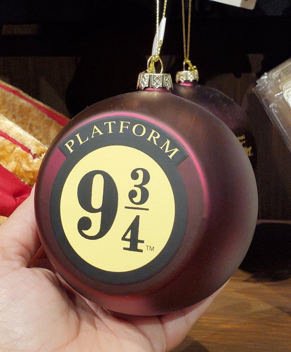 Harry Potter Christmas Ornaments Universal Studios.New Harry Potter Platform 9 3 4 Holiday Ornament Universal
