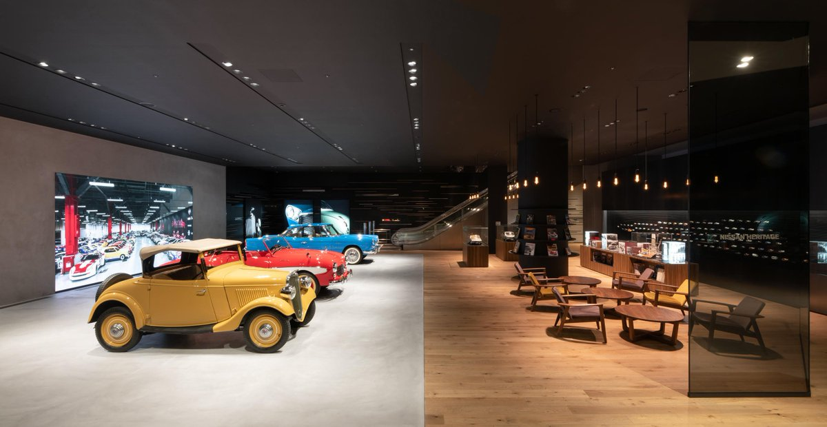 Today marks the opening of #Nissan's new Heritage Zone at the #NissanGallery. Nissan is using the zone to celebrate the history of our #ClassicCars and the stories behind them🙌. Learn more: global.nissannews.com/en/releases/19…