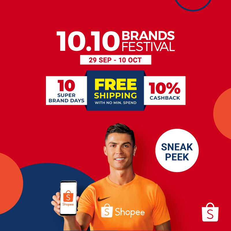 Shopee Singapore On Twitter The Shopee 10 10 Brands Festival Is Fast Approaching And We Re Giving You A Sneak Peek Into The Festivities Check Out The Deals And Pre Claim Vouchers Over Here Https T Co B37gqipyyw