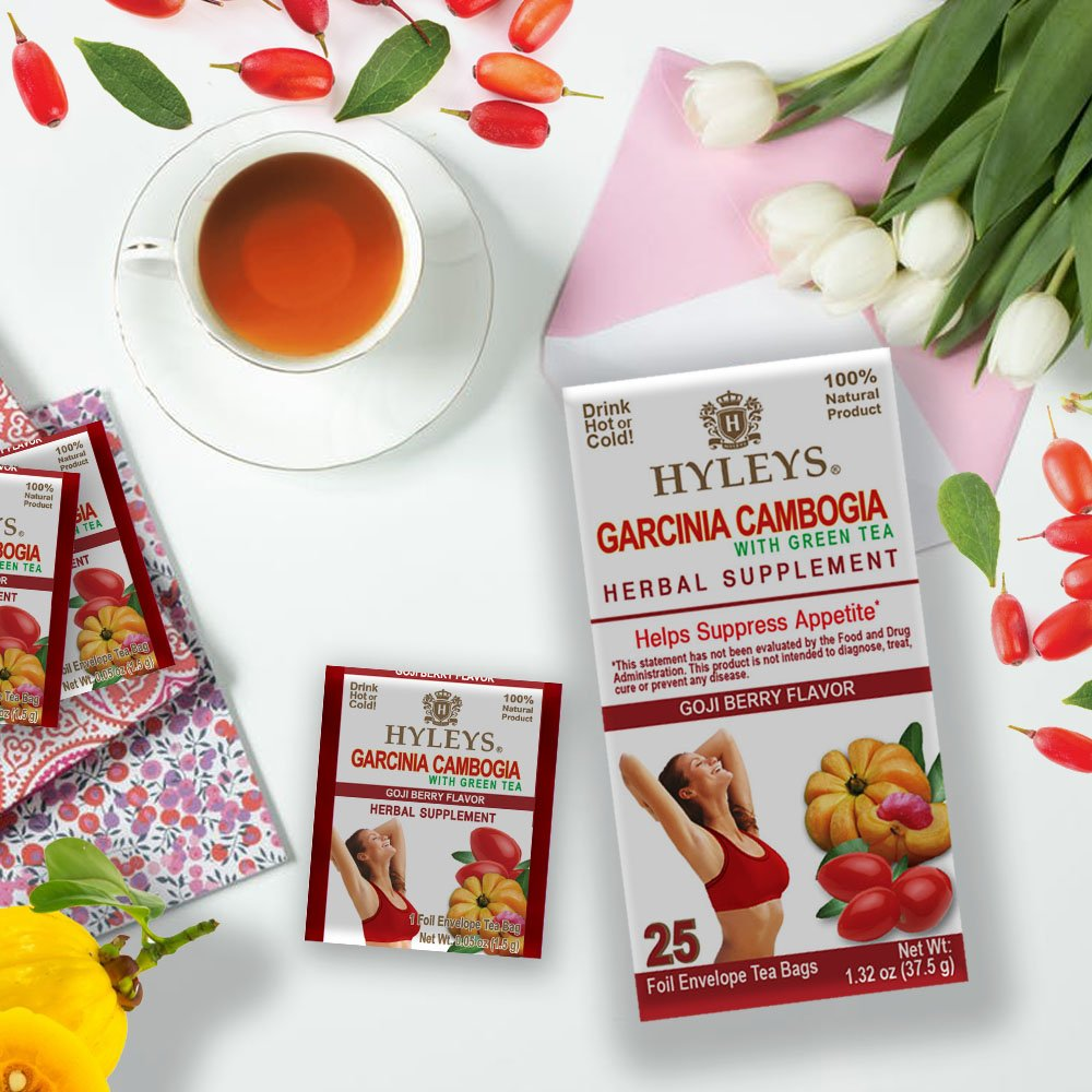 Regency Teas On Twitter Garcinia Cambogia With Green Tea Goji