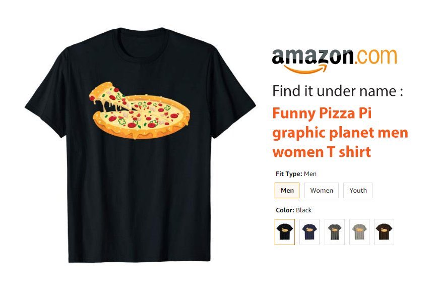 Link on #amazon : (link: http://amazon.com/dp/B07S315GQQ  #shopping #clothes #novelty #printed #t_shirt #shirt #pizza #planet #new_collection #new #ThursdayThoughts #FreeSlurpeeDay #SignsThatYouLiveInThePast #ICEraids #AllAmericanPetPhotoDay #thursdaymorning #NN19 #AWSSummit #ENGvAUS