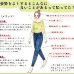 毎日「姿勢」を意識するのはメリットだらけ?同じ身長・体重でも差が出てくる!