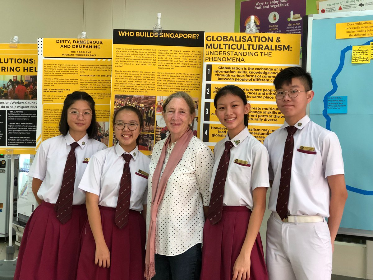 Several students from Bukit Panjang Government High School's Student Council and others visited TWC2 earlier this year for a meaningful and eye-opening visit that gave them new knowledge of the challenges that migrant workers face. https://t.co/7IGbIyNW9s