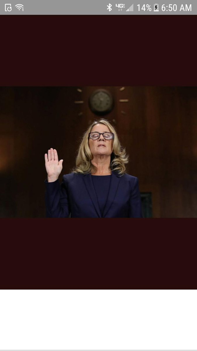 A year ago today, this happened. Dr. Christine Blasey Ford told her story of attempted rape by Brett Kavanaugh. He cried and screamed and was abusive to members of the Senate Judiciary Committee. CBF was calm, controlled and wholly believable. Misogyny won. #FridayFlashback.