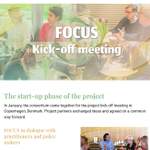 Image for the Tweet beginning: In FOCUS newsletters we give