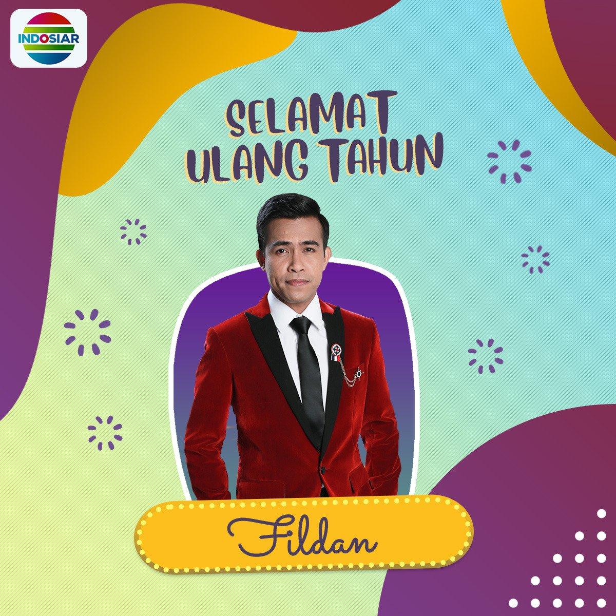 """Indosiar в Twitter """"Selamat Ulang Tahun Papa Fildan"""