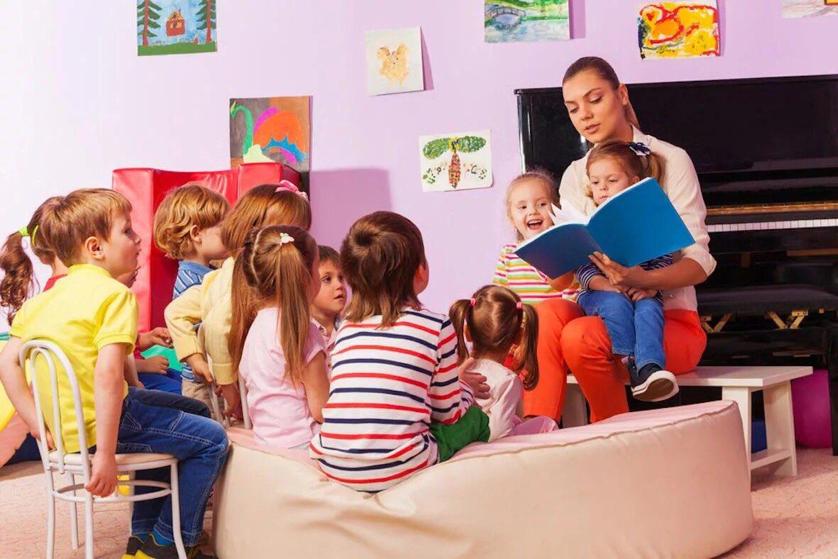 Картинки для доу дети и книги