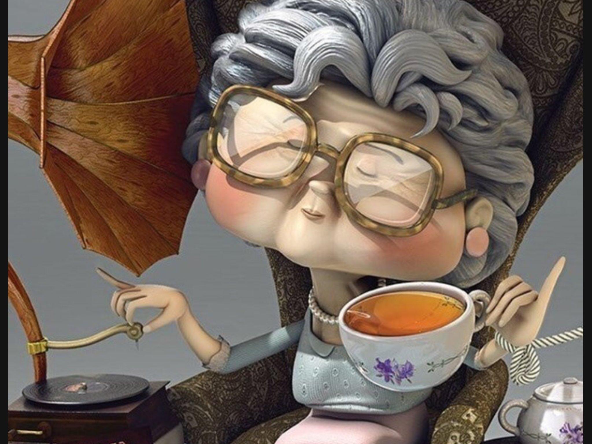 Днем сердца, картинка с добрым утром прикольная бабушке
