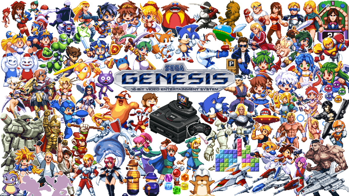 RT @SEGA: Looking for the perfect gift for a friend, a family member, or even yourself?  The Genesis Mini is $30 off until tomorrow in Nort…