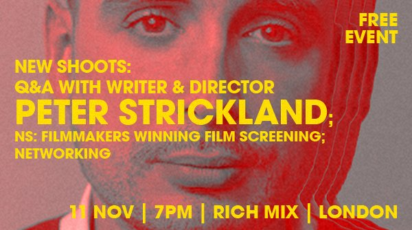 🔥HUGE NEWS! @ShootingPeople will be in conversation with the cult British writer & director Peter Strickland (In Fabric) @RichMixLondon on November 11th. Book your FREE ticket👉 bit.ly/NS-Strickland