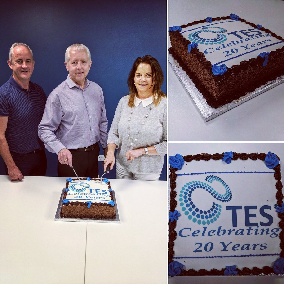 test Twitter Media - Today marks 20 Years since TES were registered as a limited company. Pictured are three of our original employees, Noel McCracken, John McKillion and Joan Laverty 🎂🎉 #herestothenext20 #itsourbirthday #20years https://t.co/IYigE8wxtp